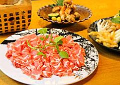 地産地消の食材と郷土の味